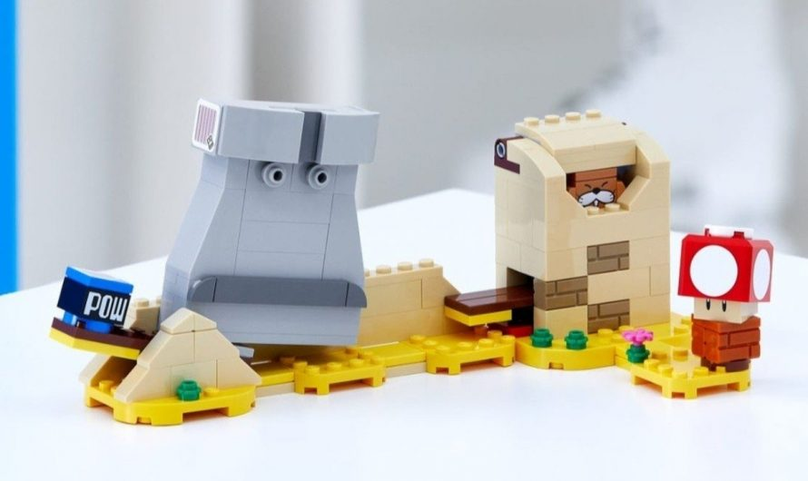 This is the first time you see the LEGO Super Mario*Monty Mole and Super Mushroom the expansion set