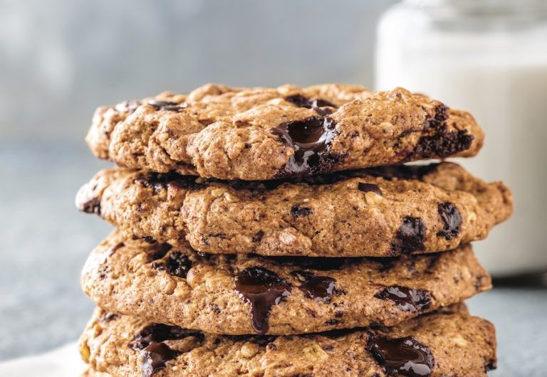 Vegan+gluten-free chocolate chip cookies from the coffee thanks