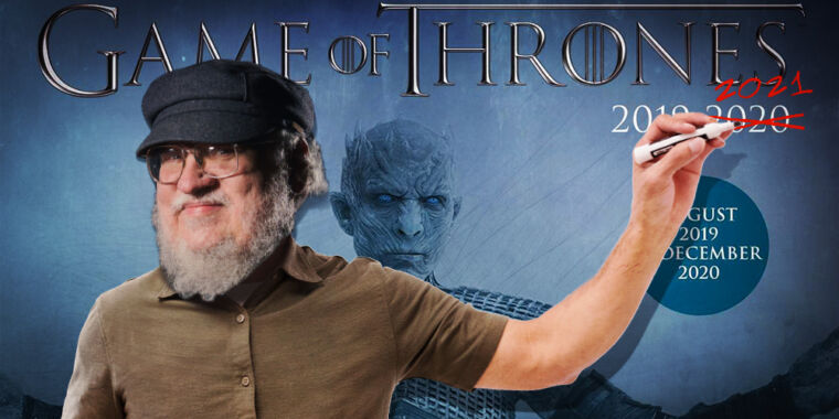 Wishful thinking: George R. R. Martin has provided a new wind of Estimate of the winter
