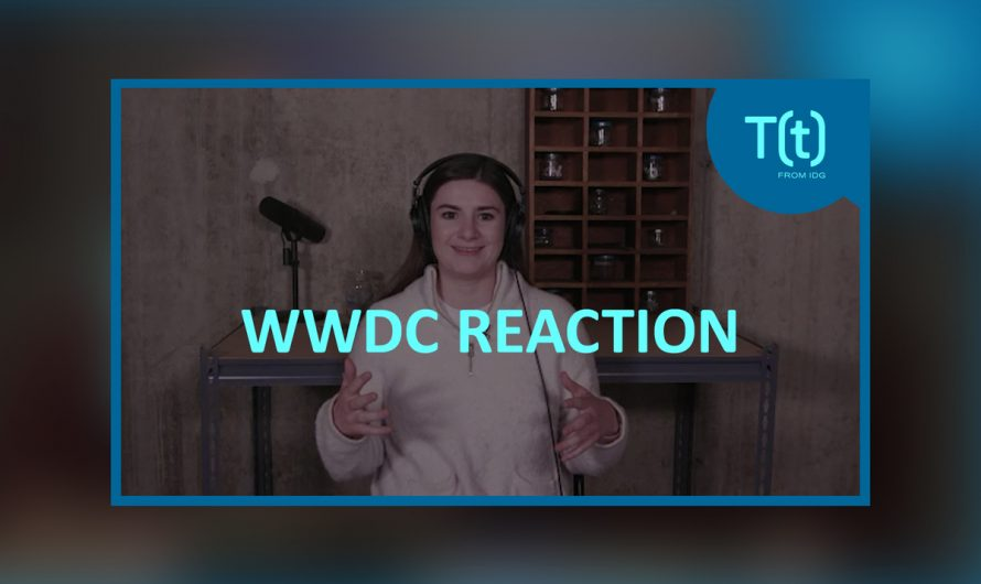 Worldwide Developers Conference on the reaction, exciting iOS14 update