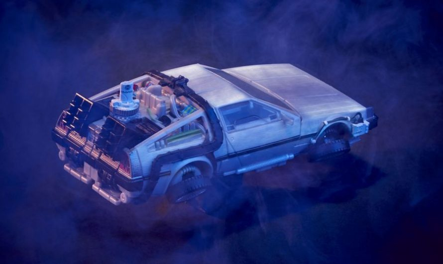 Back to the Future meets Transformers in an epic, new crossover