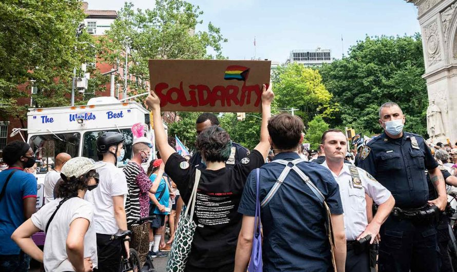 51 Years After Stonewall, New York's Queer Liberation March Faces Police Violence
