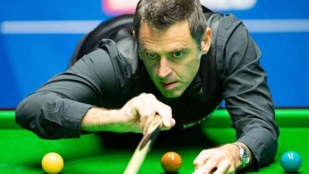World Snooker Championship 2020: Ronnie O'sullivan sets record in first round win