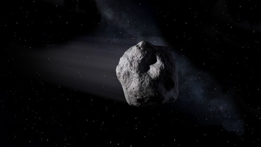 Female students in India to discover asteroids trawling through space image