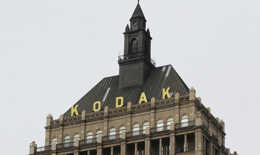 Kodak gives its CEO stock options, then news broke of a million dollars of Federal transactions and prices soared