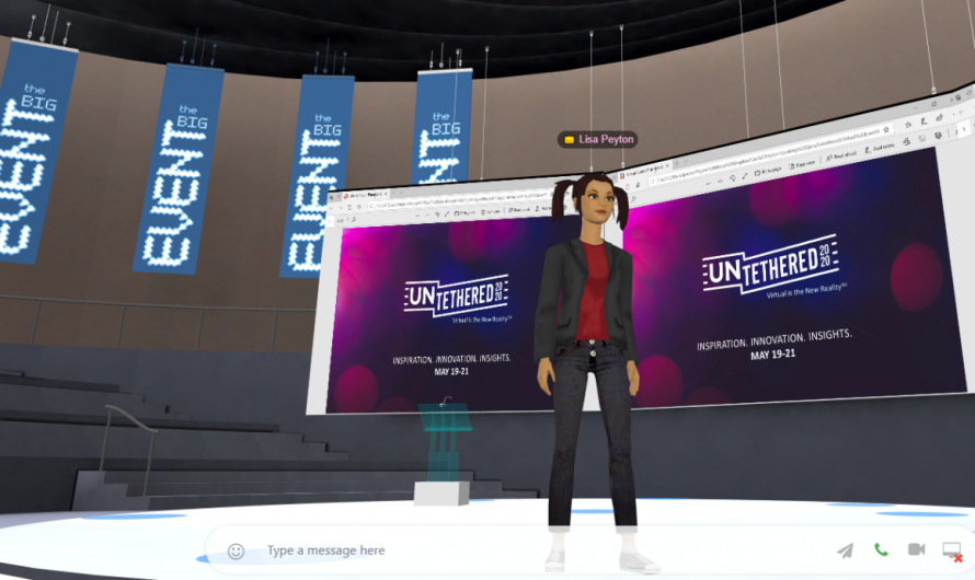 Why choose 3D for your next virtual event