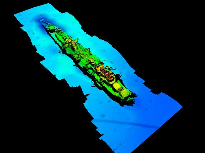 WWII German Navy wreck with Nazi symbol discovered