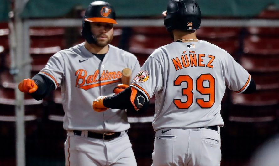 Orioles eliminated from playoff race in sloppy loss to Red Sox