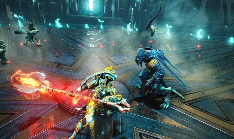 Godfall deep dive covers combat techniques, weapons, and more