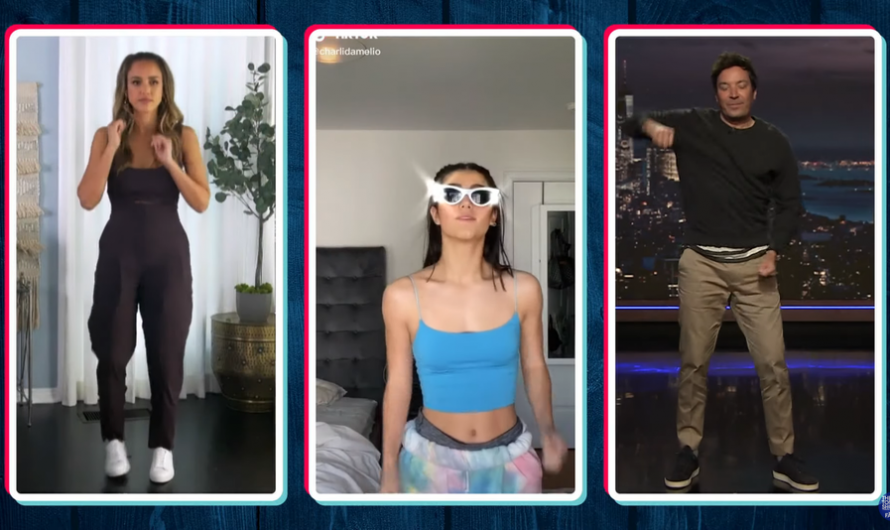 Before the TikTok ban, Jimmy Fallon has one more dance challenge