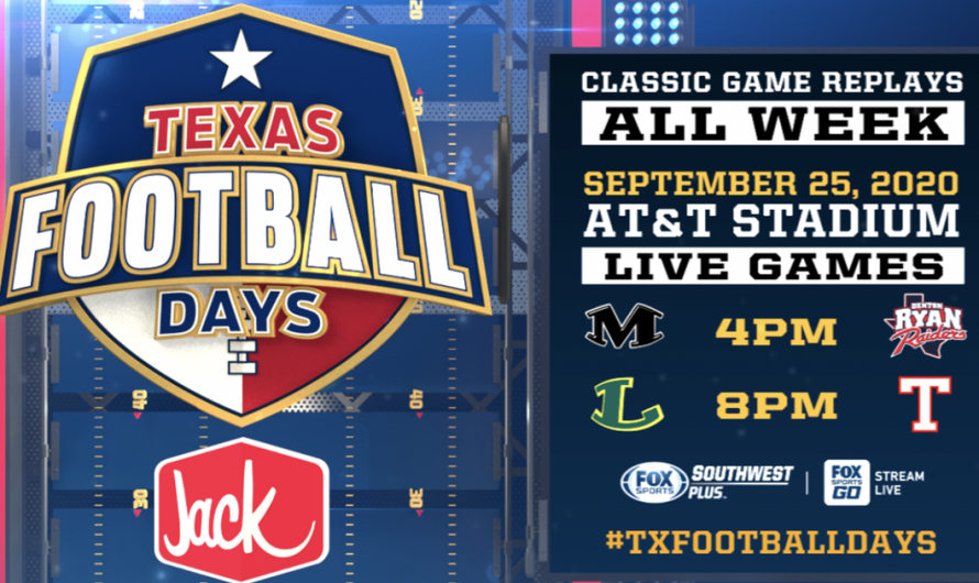4th Annual Texas Football Days Presented By Jack In The Box Kicks Off Tonight On FOX Sports Southwest