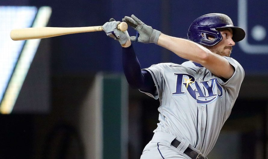 World Series 2020 — How Brandon Lowe got his swing straightened out at exactly the right time