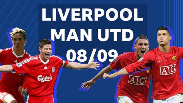 Liverpool v Man Utd: The last time Liverpool and Manchester United were in a Premier League title race