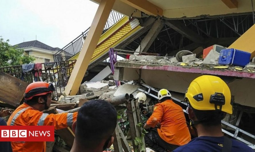 Several dead and hundreds injured in Indonesia