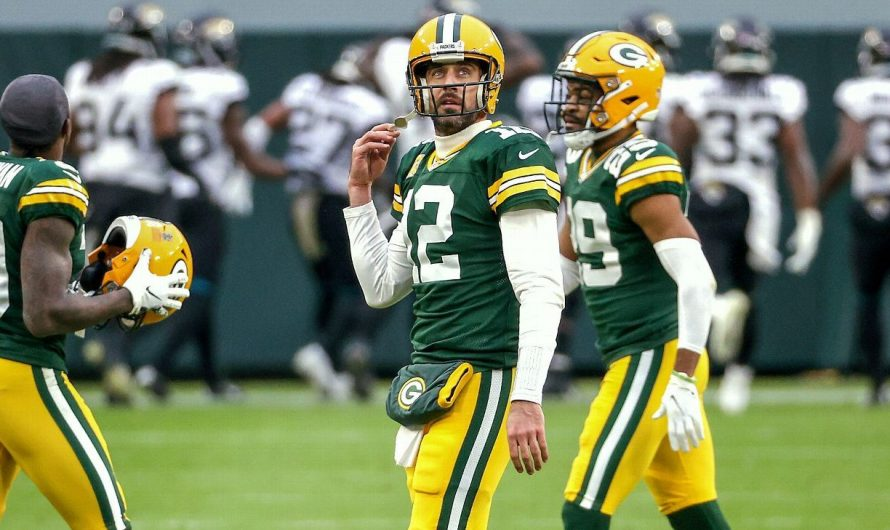 Aaron Rodgers has just 89 picks in 6,587 passes — and he hates every one of them