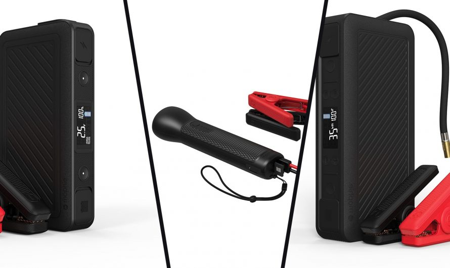 Mophie's New Battery Is an Air Compressor and Car Jump Starter – Review Geek