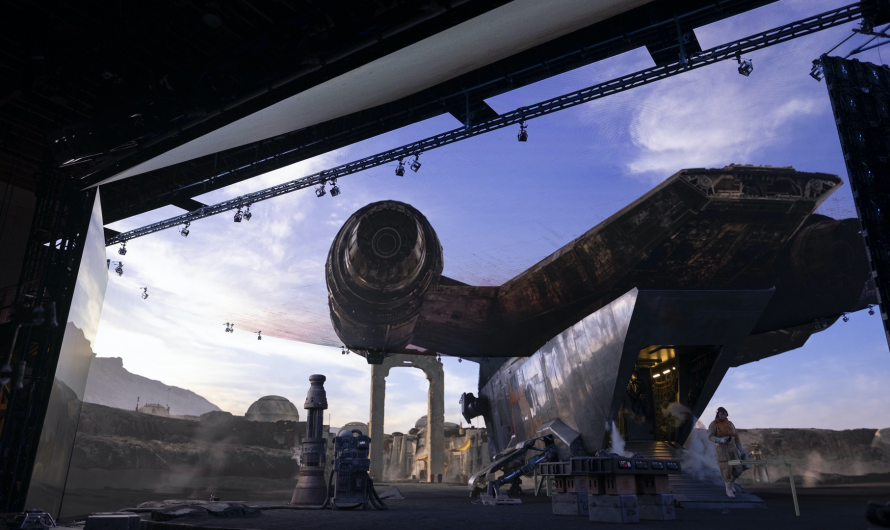 See Industrial Light and Magic's Enormous LED Set for 'The Mandalorian' – Review Geek