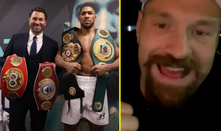 Tyson Fury posts positive update indicating Anthony Joshua fight is on the verge of being finalised with site deal set to be completed in coming days