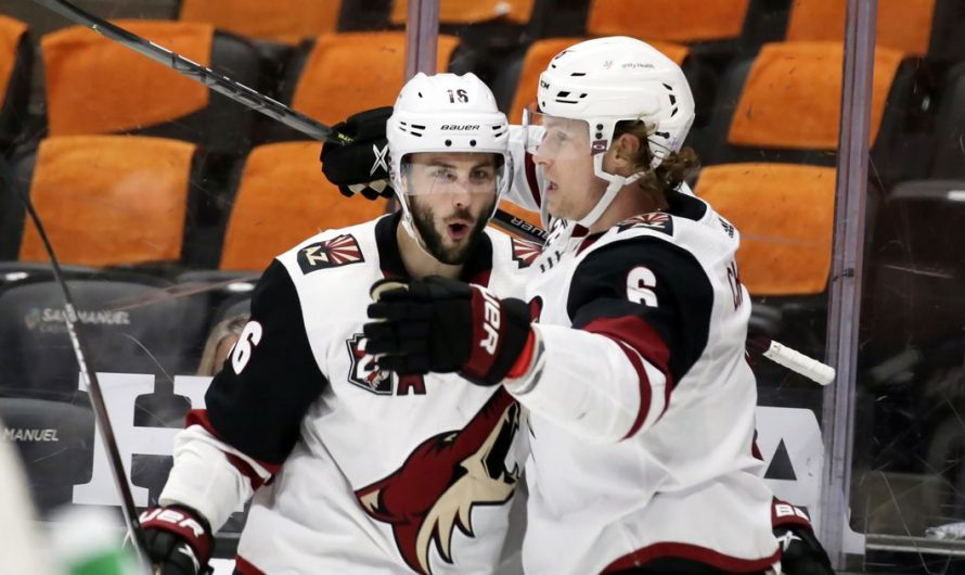 Chychrun completes hat trick in OT, Coyotes beat Ducks 3-2