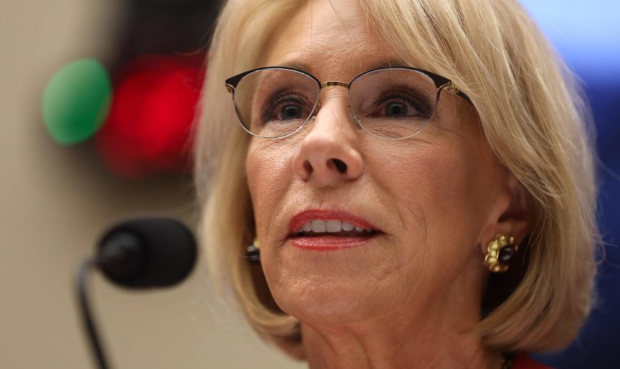 Betsy DeVos Takes Her Assault on Public Schools Back to the States