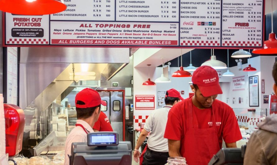 Five Guys employees were fired for refusing to serve police officers in Alabama, as tension mounts between service workers and law enforcement
