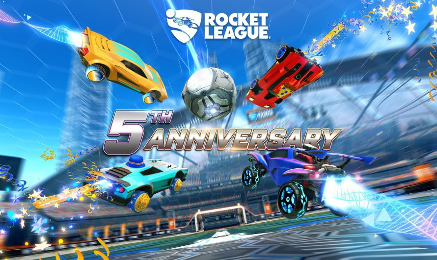 To celebrate five years of Rocket League with the fifth anniversary of the activities
