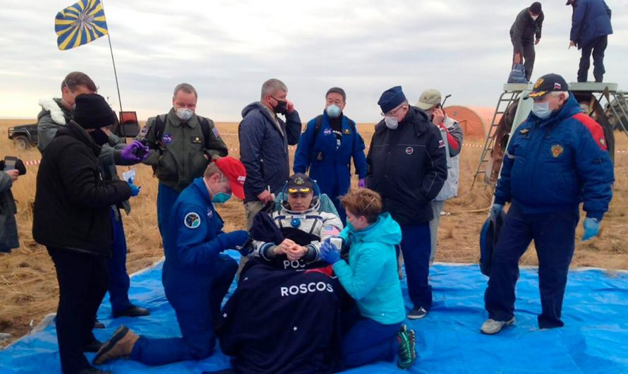NASA astronaut Chris Cassidy, Russian counterparts return safely to Earth from space station