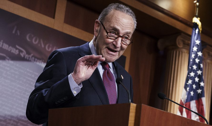 Schumer warns Dems will go it alone on Biden's $4T tax and spending proposal