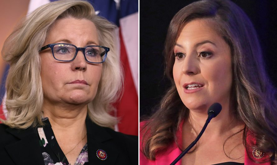 Elise Stefanik, GOP conference chair favorite, voted with Trump less than Liz Cheney
