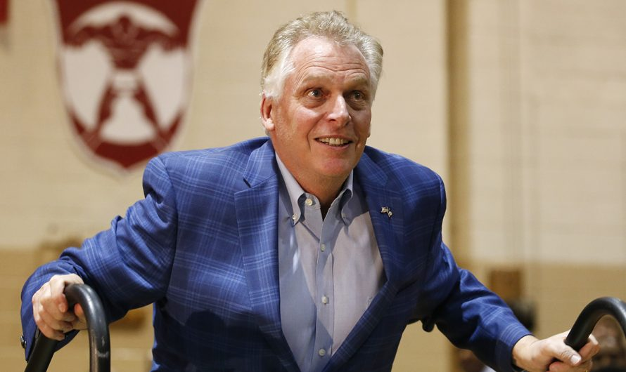 Terry McAuliffe criticizes Youngkin for Trump ties, but he has his own