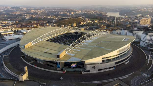 Champions League final moved to Porto and 12,000 Chelsea and Manchester City fans can attend