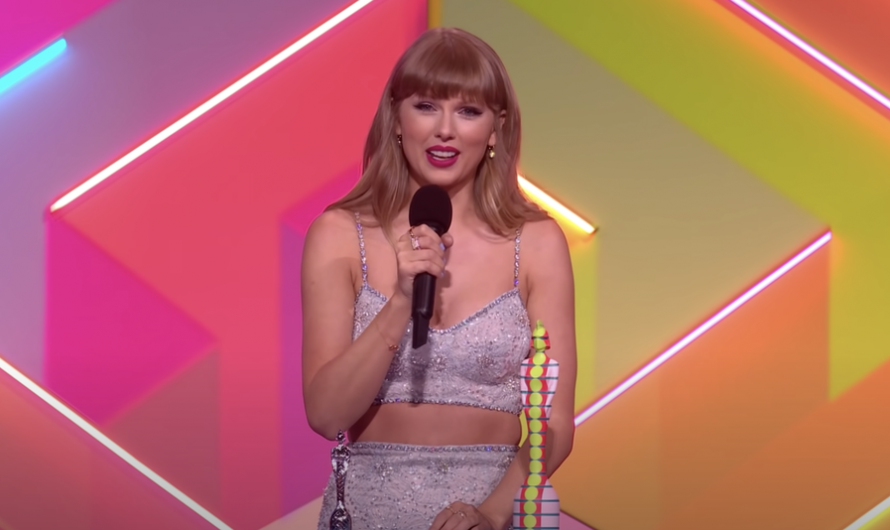 Taylor Swift delivers moving BRITs acceptance speech about proving your critics wrong
