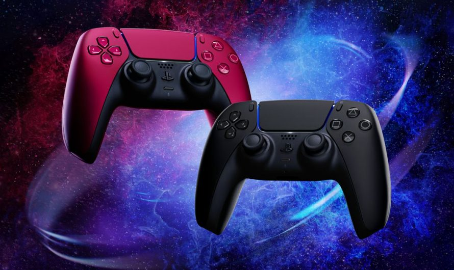 Sony announces new DualSense PS5 controller colors: Cosmic Red, Midnight Black