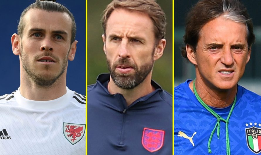 Mancini compares Wales to Stoke, Bale responds to Italy manager, Gareth Southgate realistic about expectations on young England stars